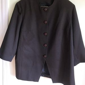 Beautiful classy suit  fully lined Pea  jacket